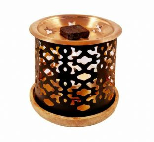 Aromafume Exotic Incense Diffuser (Flower of Life Design)